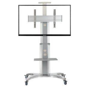 """TV / Bildschrim Rollständer mobiler Standfuß für 40""""–50"""" LCD/LED/Plasma, max. 45,5kg"""