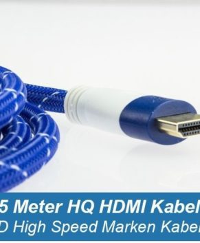 Ultraluxx 15 m HQ High Speed 1.4 HDMI Kabel für Full HD 3D Video/Audio Signal