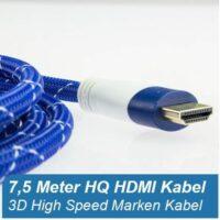 7,5 m HDMI Kabel